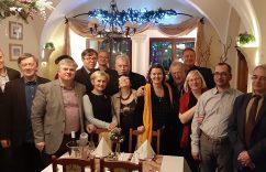Ambasador Litwy i goście
